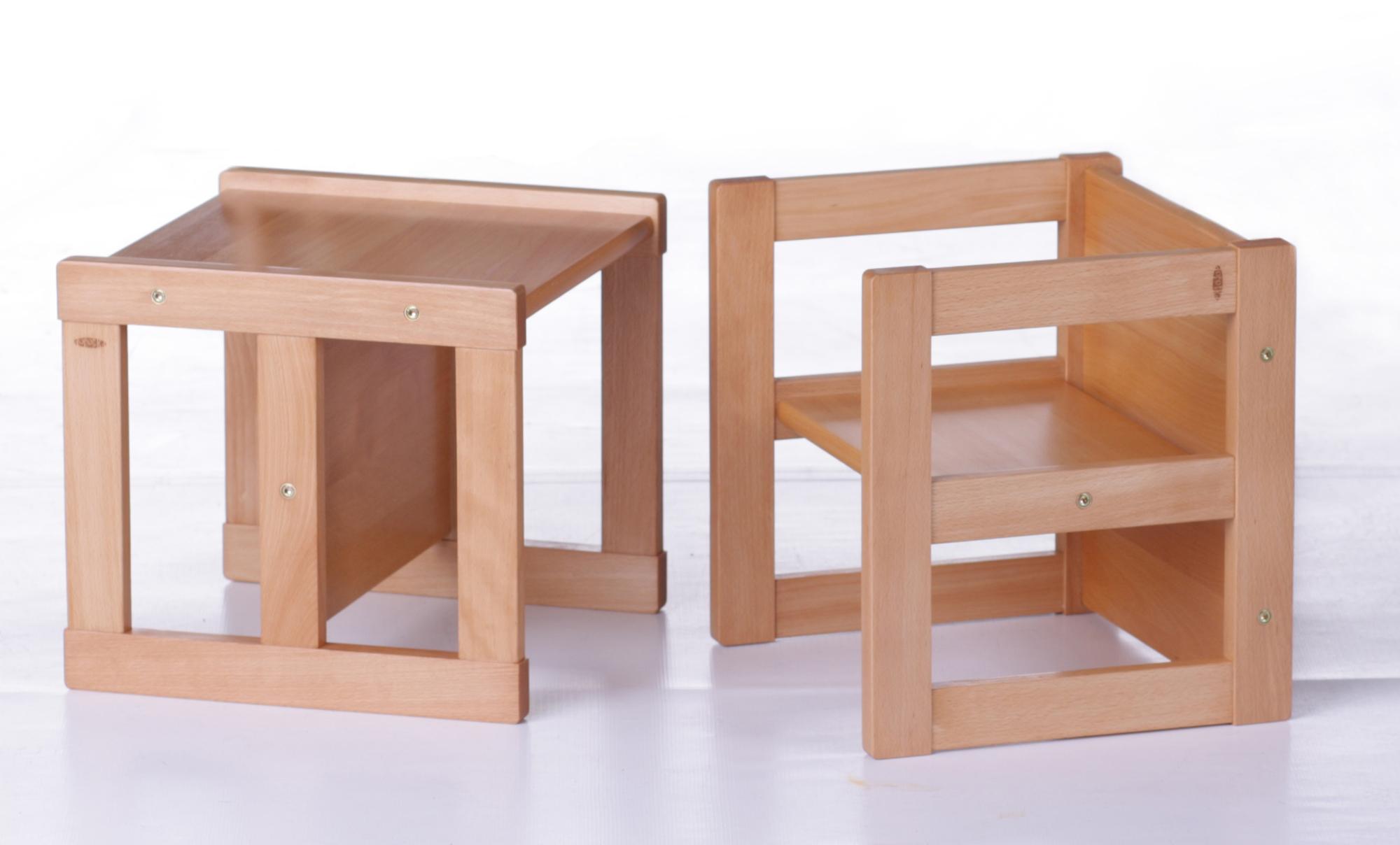 9b4de474579e Detský drevený stolík a stolička pre deti od 1 roka